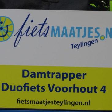 2e Ton van Dam fiets in Voorhout: DAMTRAPPER