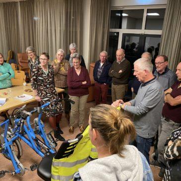 Gezellige en nuttige vrijwilligersavond Fietsmaatjes Sassenheim