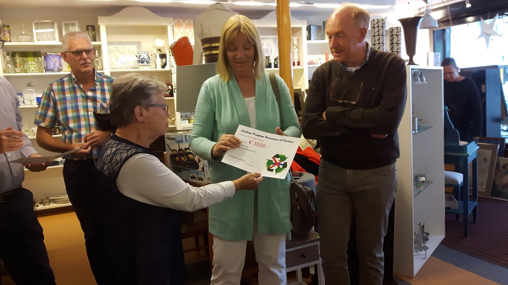 Donatie Kringloopwinkel Fietsmaatjes