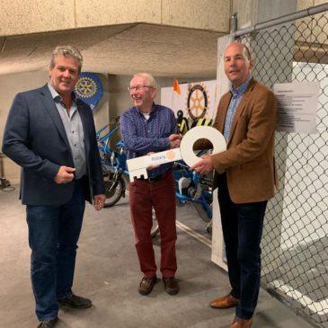 Stalling voor duofietsen bij de Plus in Voorhout uitgebreid
