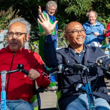 Fietsmaatjes Teylingen bij Wereld Alzheimer Dag